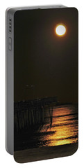 Moon Beams Dancing On The Atlantic Portable Battery Charger