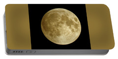 Moon During Eclipse Portable Battery Charger