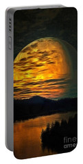 Moon In Ambiance Portable Battery Charger