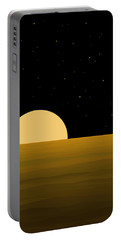 Moon Light Portable Battery Charger by Val Arie