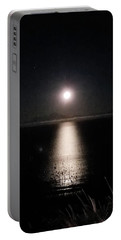Moon On Ocean Portable Battery Charger