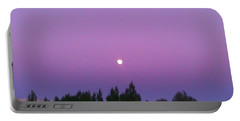 Moon On Perfect Purple Portable Battery Charger