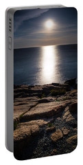 Moon Over Acadia Shores Portable Battery Charger