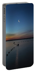 Moon Over Cayuga Portable Battery Charger