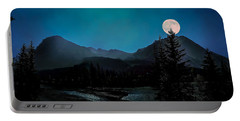 Moon Over Field Bc Portable Battery Charger