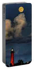Moon Over Lighthouse Portable Battery Charger