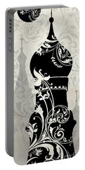 Moon Over Moscow Portable Battery Charger by Mindy Sommers