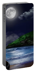 Moon Over The Cove Portable Battery Charger