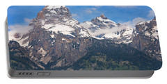 Moon Over The Tetons Portable Battery Charger
