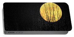 Moon Over The Trees Portable Battery Charger