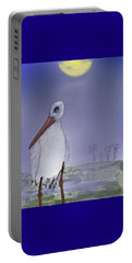 Moon Rise Becomes A Stork Portable Battery Charger