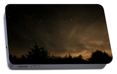 Portable Battery Charger featuring the photograph Moon Rise by Katie Wing Vigil