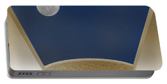 Portable Battery Charger featuring the photograph Moon Roof by Paul Wear
