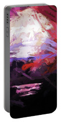 Moon Sky Pink Sea Portable Battery Charger