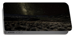 Moonlight And The Milky Way Portable Battery Charger
