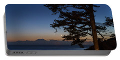 Moonlight At The Beach Portable Battery Charger