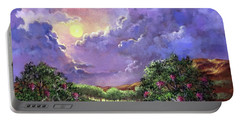 Moonlight In The Woods Portable Battery Charger