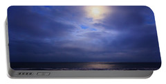 Moonlight On The Ocean At Hatteras Portable Battery Charger