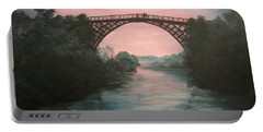 Moonlight Over Ironbridge Portable Battery Charger