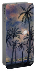 Moonlight Over Key West Portable Battery Charger