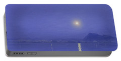 Moonlight Over Udaipur Portable Battery Charger