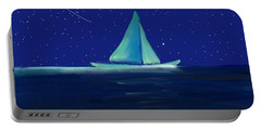 Moonlight Sail Portable Battery Charger