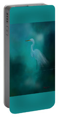 Portable Battery Charger featuring the photograph Moonlight Serenade by Marvin Spates