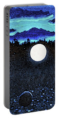 Moonlit Beach Portable Battery Charger