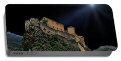 Moonlit Castle Portable Battery Charger by Anthony Dezenzio