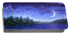 Moonlit Lake Portable Battery Charger