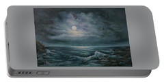 Moonlit Seascape Portable Battery Charger