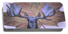 Moonlit Moose Portable Battery Charger