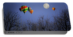 Moonlit Ride Portable Battery Charger