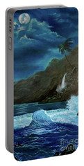 Moonlit Wave Portable Battery Charger