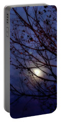 Portable Battery Charger featuring the photograph Moonrise by Ellen Heaverlo