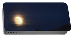 Portable Battery Charger featuring the photograph Moonrise On Lake Mead 2 by Marie Leslie