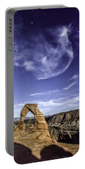 Moonset Delicate Arch Portable Battery Charger