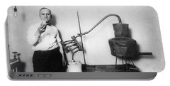 Moonshine Distillery, 1920s Portable Battery Charger