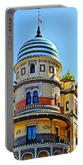 Moorish Tower With Hdr Processing Portable Battery Charger