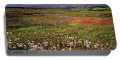 Moorland Cottongrass Portable Battery Charger