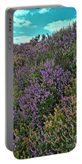 Moorland Heather Portable Battery Charger
