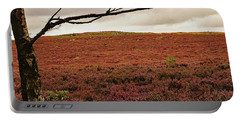 Portable Battery Charger featuring the photograph Moorland Heather by Tony Murtagh