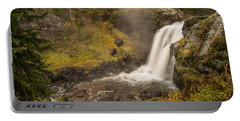 Portable Battery Charger featuring the photograph Moose Falls by Gary Lengyel