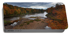 Moose River Autumn Portable Battery Charger
