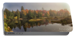 Moose River Morning Portable Battery Charger