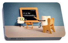 Portable Battery Charger featuring the photograph Mooshemellow by Heather Applegate