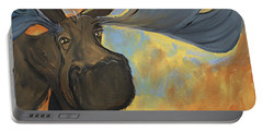 Moosying Along Portable Battery Charger by Terri Einer