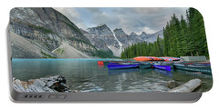 Moraine Logs And Canoes Portable Battery Charger