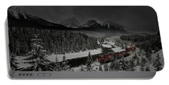 Portable Battery Charger featuring the photograph Morant's Curve At Night by Brad Allen Fine Art