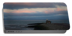 Morcambe Bay Sunrise Portable Battery Charger